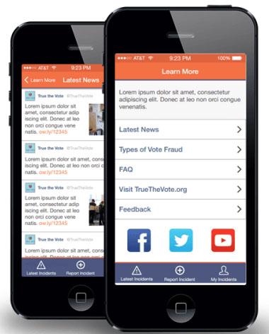 VoteStand smartphone app