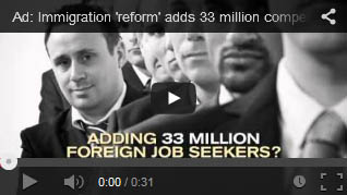 immigration reform amnesty will result in 33 million job competitors to jobless Americans