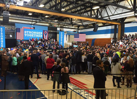 Clinton Cleveland rally, October 21, 2016