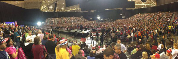 Trump rally in Cleveland, October 22, 2016