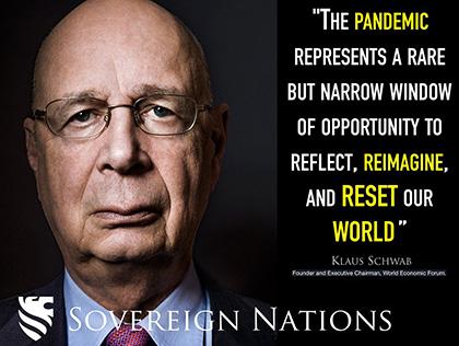 Klaus Schwab - global reset