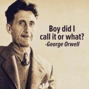 Orwell - boy did I call it