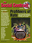 SPLC - Profiteers of Hate - the Social Contract