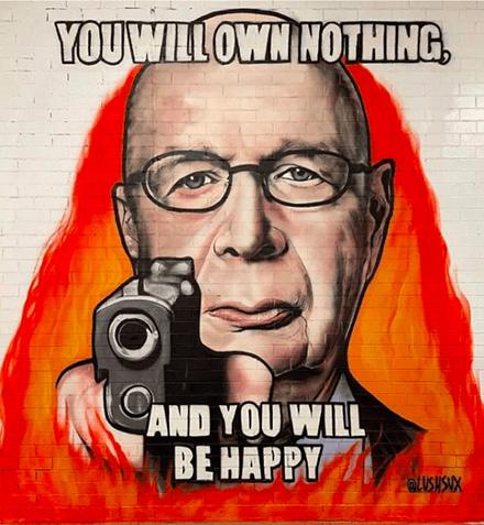 You will own nothing - Klaus Schwab