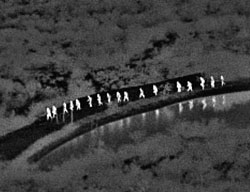 Illegal aliens - night vision