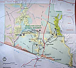 Organ Pipe National Monument map