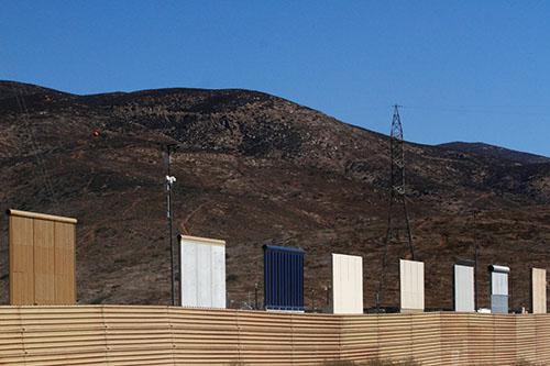 Border wall prototypes 2018, Reuters, Jorge Duenes
