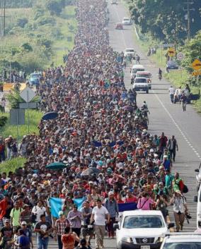 migrant caravan 2018 October