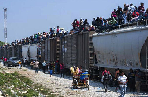 The Beast - train north to America
